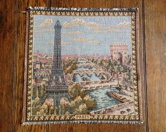 Eiffel Tower French Tapestry