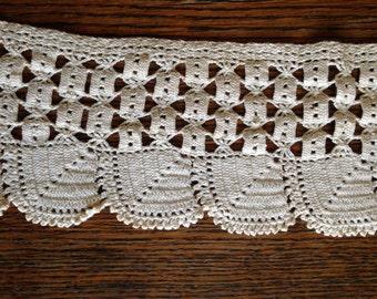 2 yds Crochet Edging