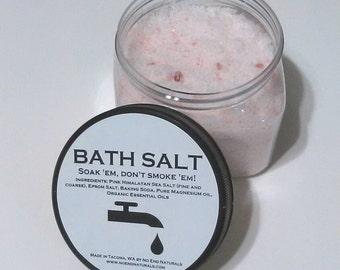 Soothing Bath Salts-Soak 'em Don't Smoke 'em