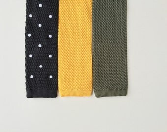 Mens Knit Tie