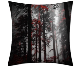 Red Forest Cushion Cover (C135)
