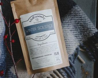 SALE Winter Solstice ORGANIC Tea | Orange Tea | Cranberry | Winterwoods Tea Company Loose Leaf Tea Blend