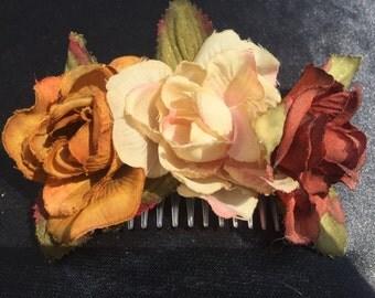 Flower hairslide