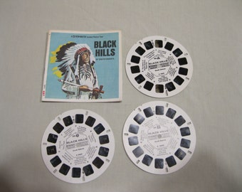 Black Hills of South Dakota, GAF Viewmaster A486, 3 reels and booklet.