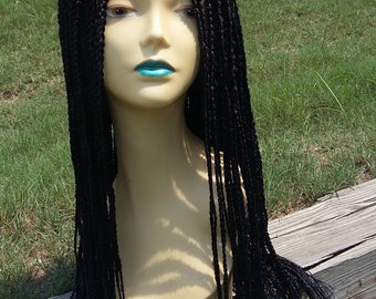 Custom made braided wig 1,1/b