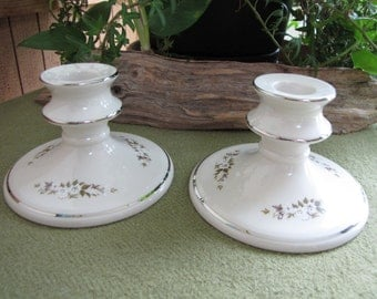 Edgerton Spring Rhapsody Vintage Candle Holders Discontinued