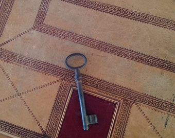 Key made of Iron House Key Gate Key Vintage Collectible