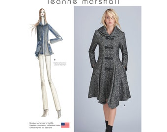 Simplicity Sewing Pattern 8262 Leanne Marshall Coat or Jacket