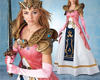 Simplicity Sewing Pattern 8113 Misses' Costume with Craft Foam Armor, Belt and Crown