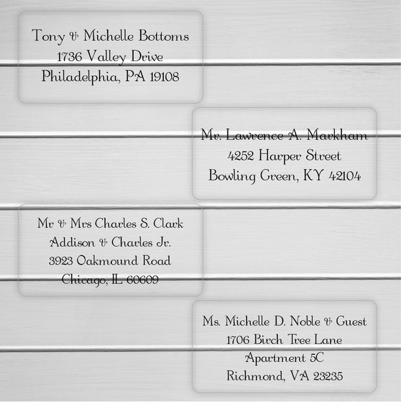 Round Wedding Invitation Label 1: Wedding Invitation Address Labels Deliver To Address Labels
