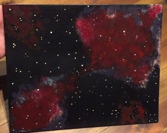 Smoke & Mirrors - galaxy inspired painting