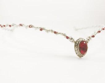 Silver Circlet - Silver Elven Circlet - Wedding Circlet - Renaissance Circlet - Elven Head Piece - Medieval Circlet - Elven Crown