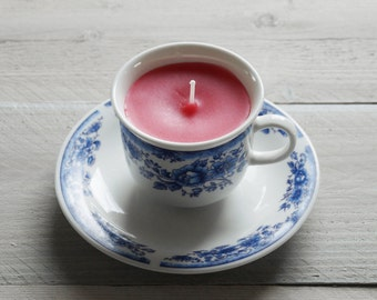 A cup of candle