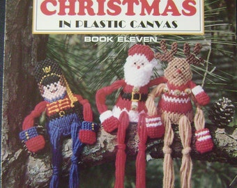A Festive Christmas in Plastic Canvas Instruction Book Eleven