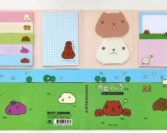Kapibarasan Mega Sticky Notepad, Post-it Notes, Post-it Pad