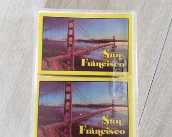 Vintage Souvenier San Fransico-Golden Gate Deck of Playing Cards