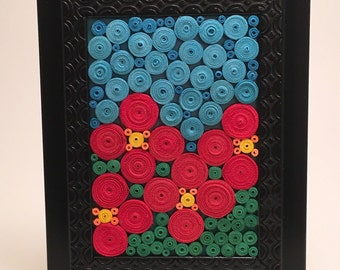 Paper Quilled Mosaic