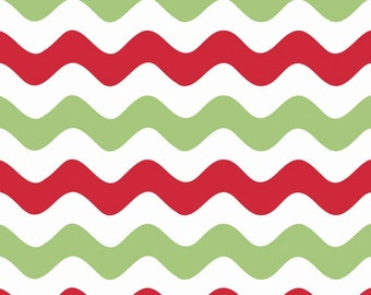Riley Blake Wave Christmas fabric