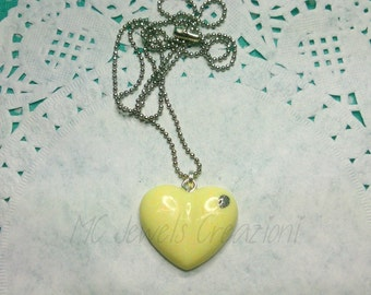 Pendant/resin heart Cabochons