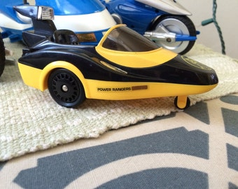 Vintage Yellow Power Rangers Side Car