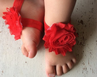 Barefoot sandals; baby barefoot sandals; red sandal; toddler barefoot sandal; sandal