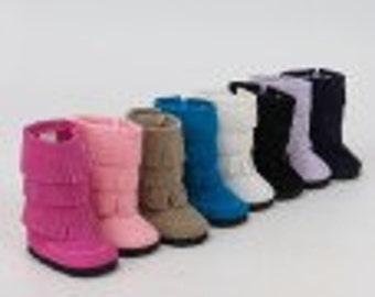 American Girl or Bitty Baby Boots color choices