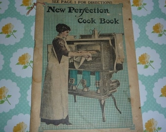New Perfection Cook Book Made by the Cleveland Foundry Company 1912