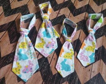 Bunny necktie, Infant necktie, toddler necktie, baby boy becktie, bunny necktie, newborn photo prop, birthday photo prop