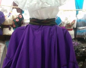 Mexican embroiled shirt and skirt