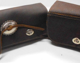 Leather Tool Bag, Leather Tool Pouch Motorcycle