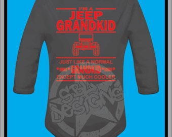 Jeep Grandkid Black Creeper