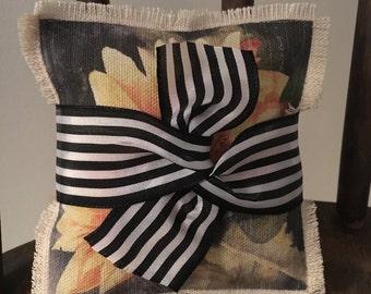 Fall Sachet, Sachet Pillow, Set of 2  Sachets, Drawer Sachet, Great Gift for Mom, Teacher, Friend, Fall Sunflower Sachet