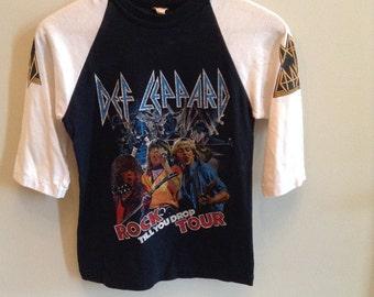 Vintage Def Leppard - Rock Till You Drop Tour 3/4 sleeve shirt