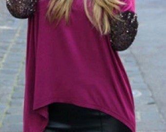 sequins elbow patch