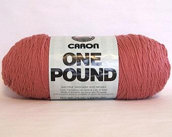 Caron One Pound Yarn Rose Pink Craft Supplies