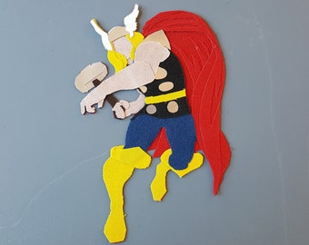 Thor: Sticker or Magnet