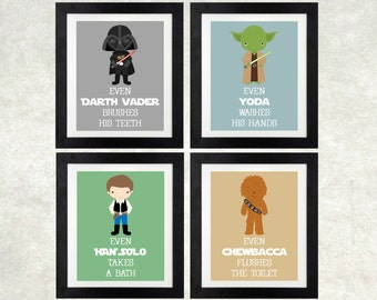 Star Wars Bathroom Etsy
