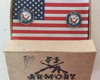 Navy Insignia Cufflinks