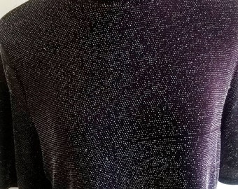 Oh My Love / Sparkly Top / Purple.