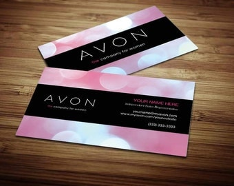 250 - Avon Business Cards [Design 4]