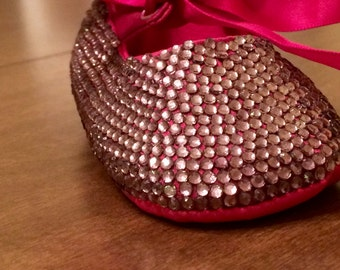Jeweled Baby Shoes