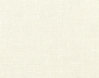11 Ounce Ivory Belgian Linen Fabric - by the yard