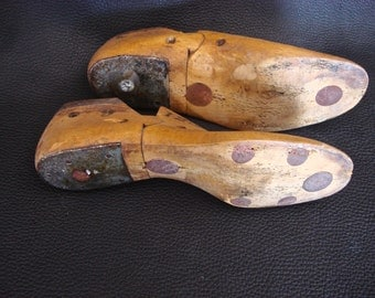 Vintage Collectible Wooden Shoe forms