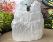 Selenite Skyscraper Tower- Self Standing Selenite Tower