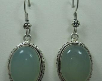 Peruvian Opal Earrings # 452