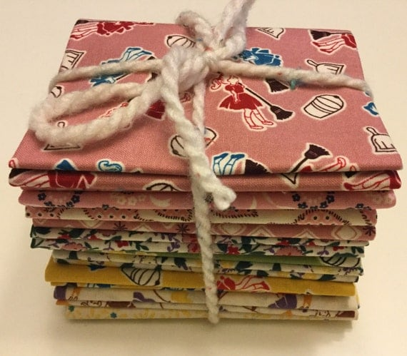 Everything But The Kitchen Sink Fat Quarter Bundle Of 10