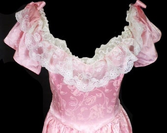 Vintage Gunne Sax by Jessica McClintock southern belle dress