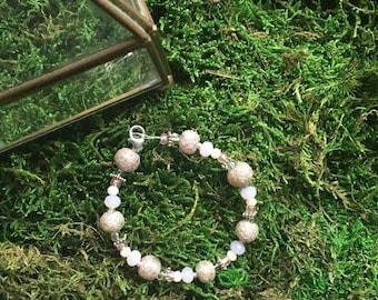 Pink Mosaic Bracelet