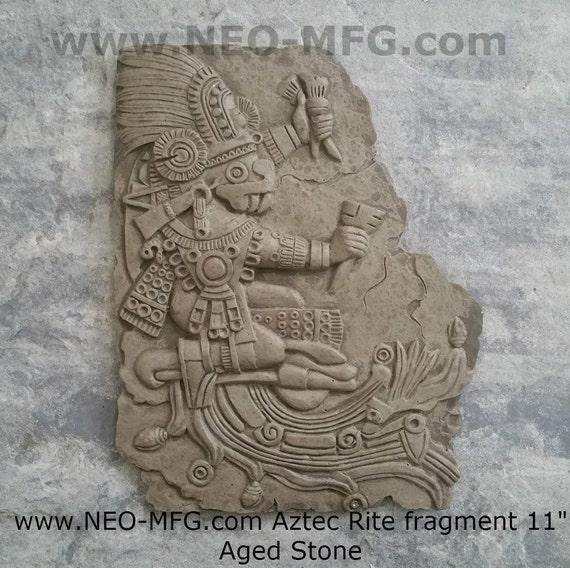 History aztec maya artifact carved rite sun stone sculpture