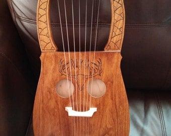Traditional Kravik Lyre (7 string)